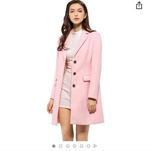 Pink Pea Coat - barely worn!